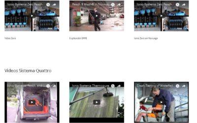 Nueva sección de Videos de Sistemas Ionic